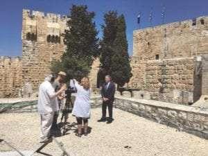 Whose Land pt 2 filmed on Location in Jerusalem