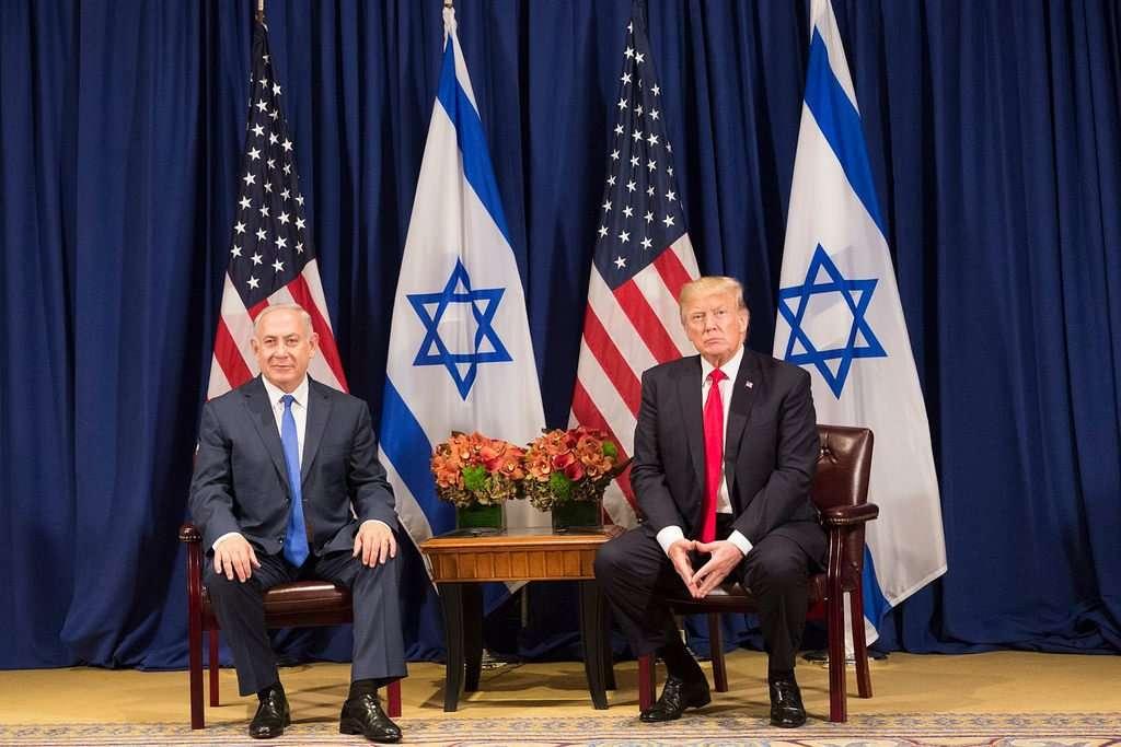 President Trump and Prime Minister Netanyahu - taken Oct. 2nd, 2017