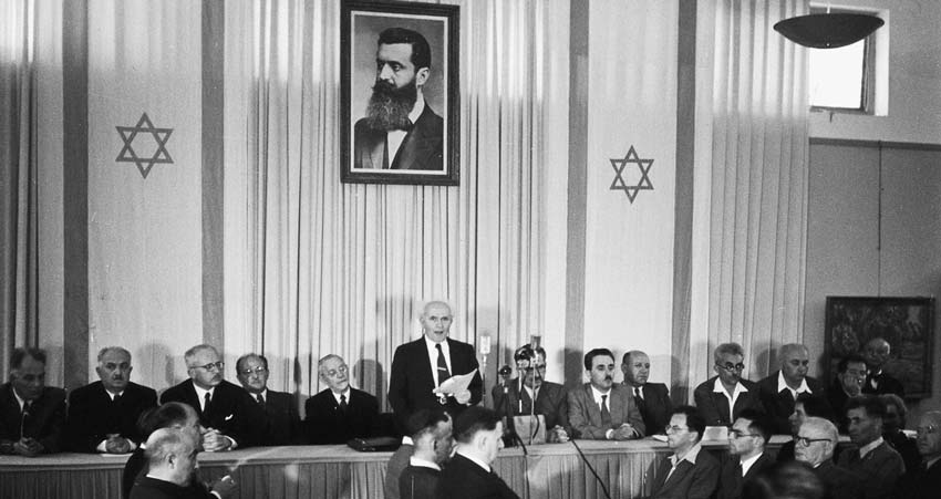 Isaiah 66:8 Fulfilled at the Declaration of the State of Israel 1948