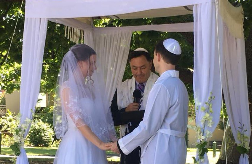 Enoch Lavender Jewish Wedding