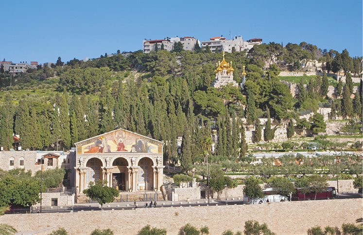 Was Jesus Crucified and Buried on the Mount of Olives?