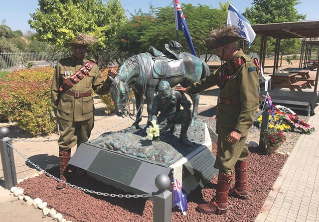 Semakh Statue Unveiled