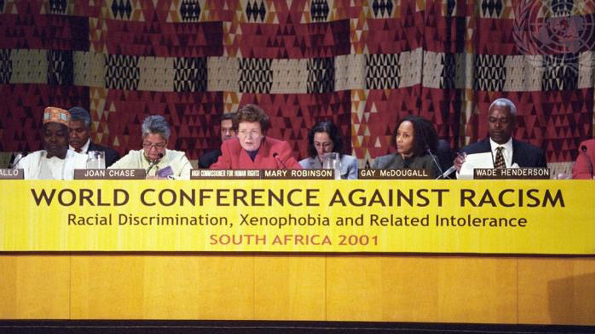 The U.N. World Conference against Racism in Durban, South Africa in 2001. (UN Photo)