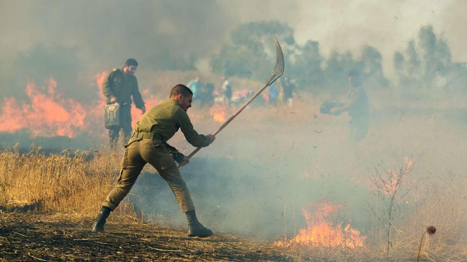 Israeli's Fire Fighting