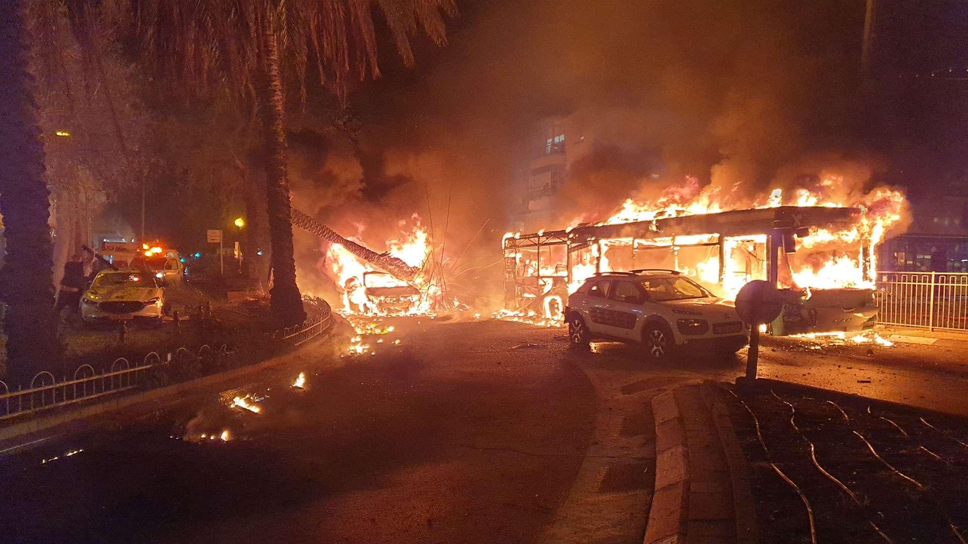 Holon Israel Aftermath of Hamas Attack