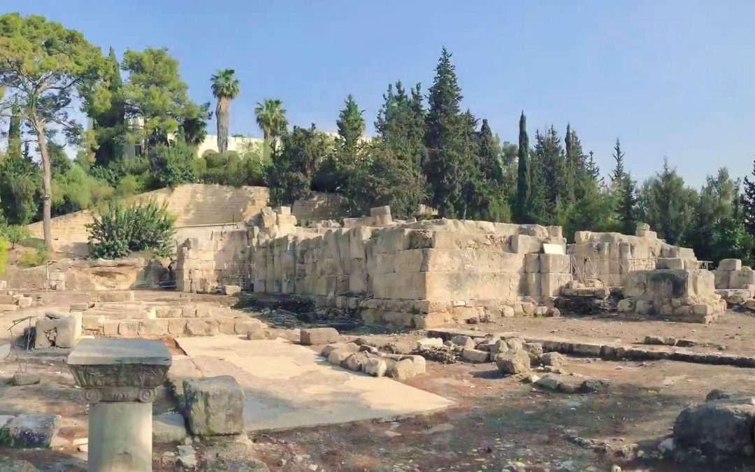 Nicopolis - the ruins of the Byzantine church complex